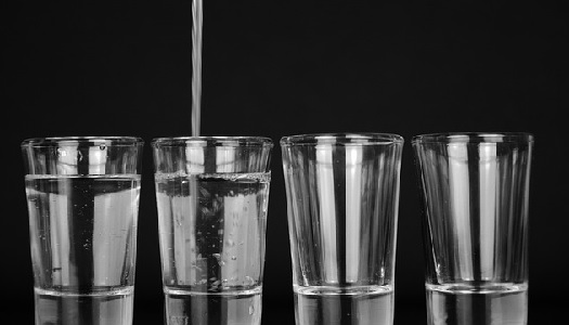 How much WATER to drink in a day according to weight